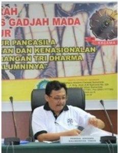 Dr. Ir. H Rudy T Koesnandar, MF (Alumni Kehutanan 1982)